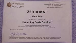 Coaching Basis Seminar